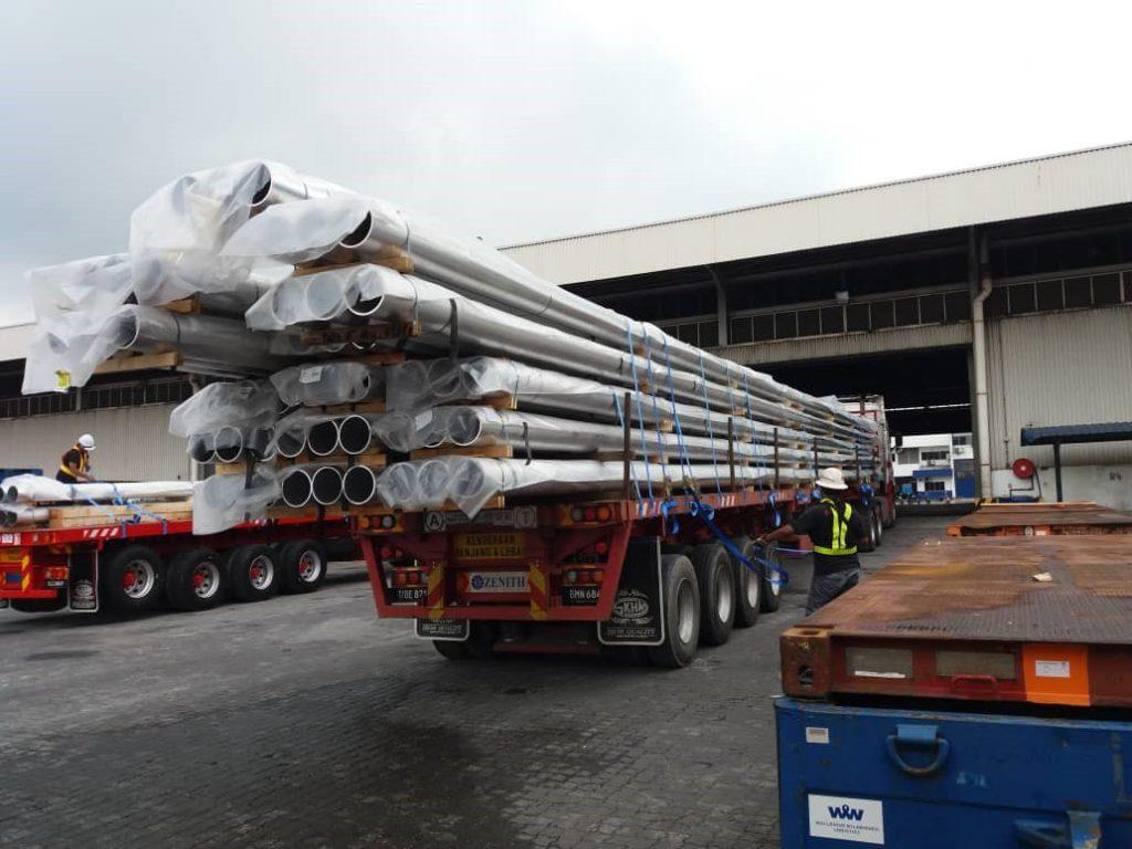 Subalipack Malaysia Sdn Bhd Handle Over Length Cargo From Belgium To Malaysia Aio Logistics
